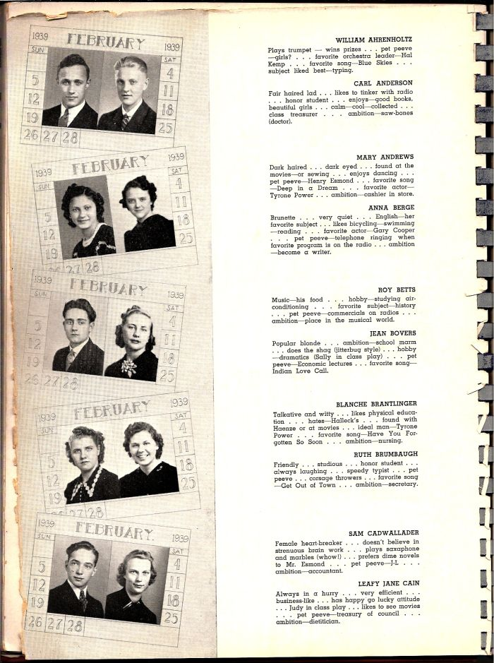 Carrick 1939 yearbook page 40.jpg