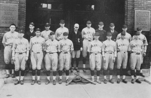 File:Carrick High School 1926 Baseball Team.jpg