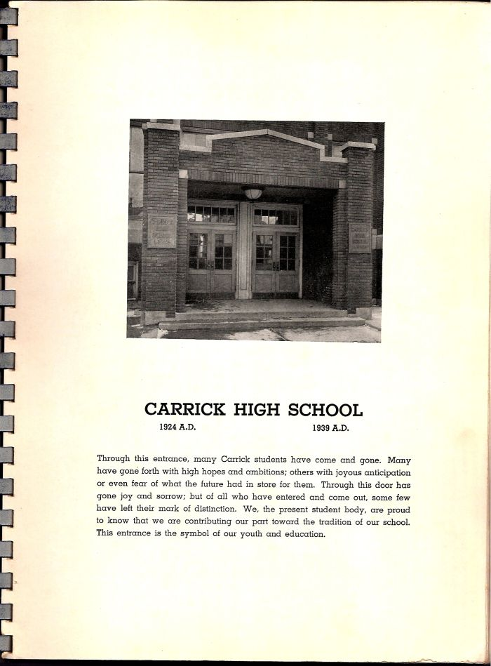 Carrick 1939 yearbook page 4.jpg