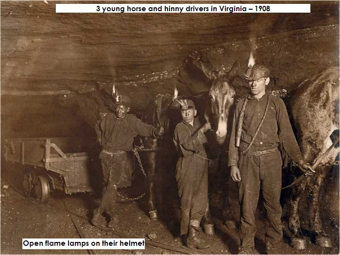 Mine photo 3 young horse and hinny drivers in Virginia – 1908.jpg