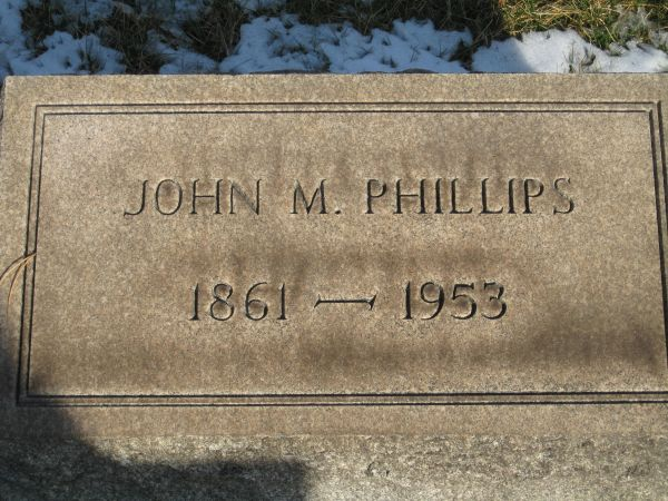 John M. Phillips Headstone.jpg