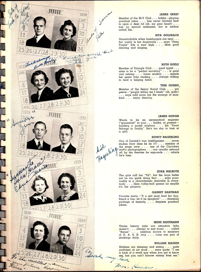 Carrick 1939 yearbook page 69.jpg