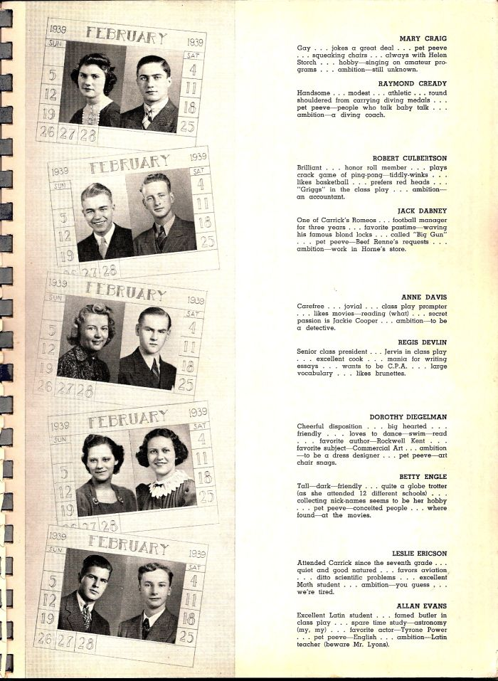 Carrick 1939 yearbook page 41.jpg