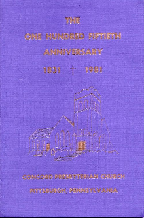 Concord Church 150th Anniversary 1831-1981 booklet cover.jpg